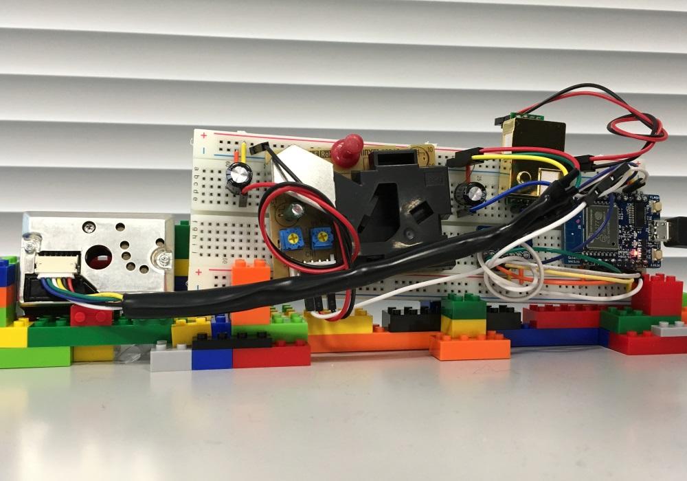 「Arduino的なもので作る、環境センサIoT(ダストセンサ編)」のイメージ