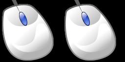 「2つのマウスで 2つのマウスポインタを操作する方法」のイメージ