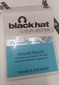 「Black Hat USA でトレーニング講師になってみた」のイメージ