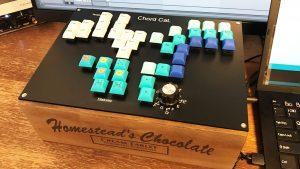 「コード演奏ができる楽器 Chord Cat.(Maker Faire Tokyo 2020)」のイメージ