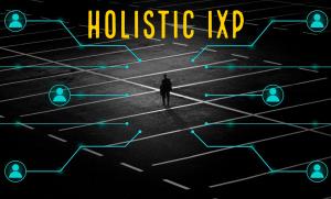 「IXP管理のフルスタック自動化」のイメージ